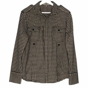 7 For All ManKind Flannel Check Shirt Jacket